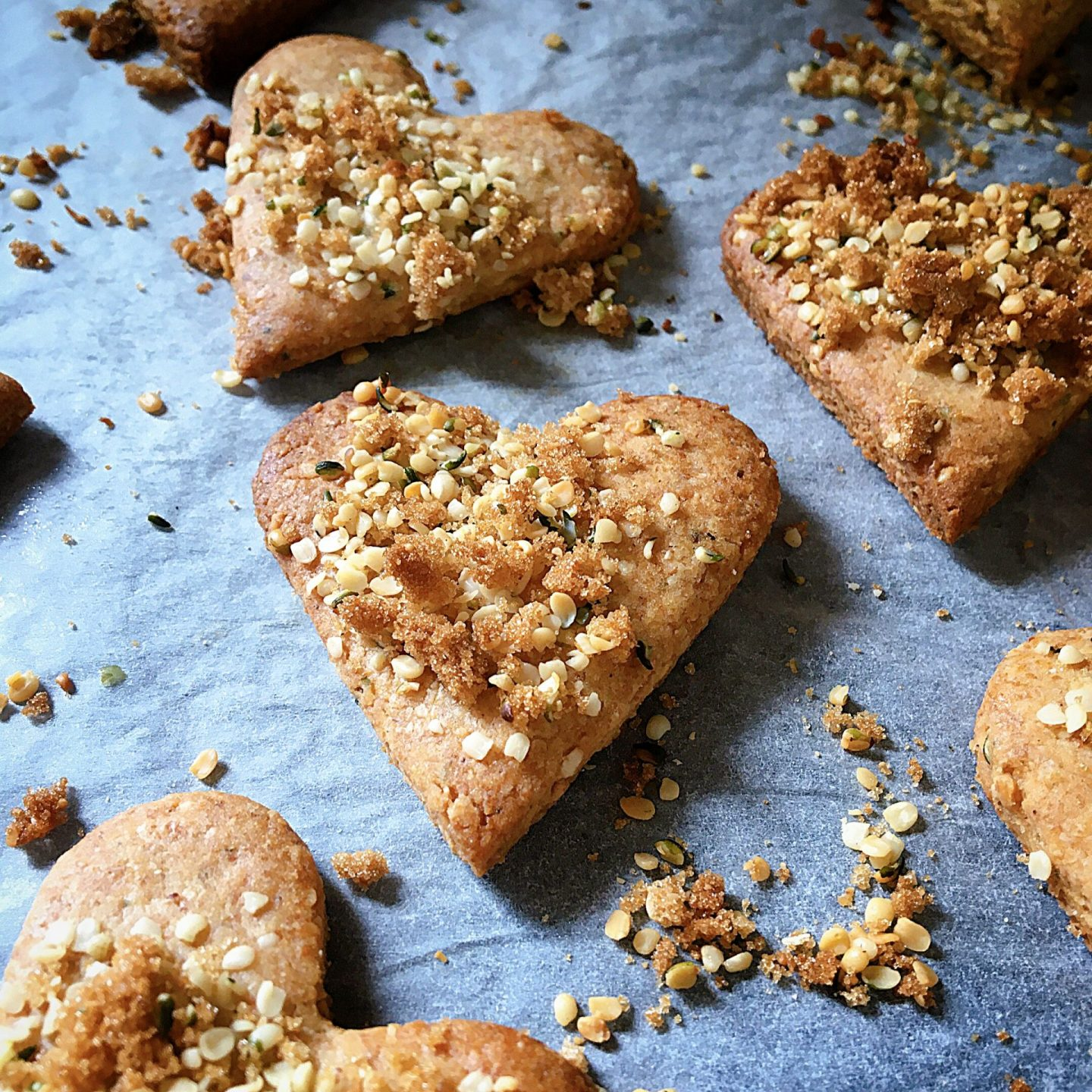 HEMP HEART COOKIES