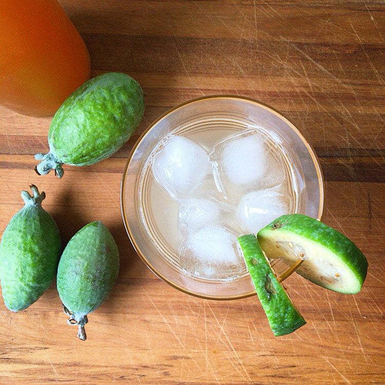 Feijoa skin syrup (and 9 other ways with feijoas)